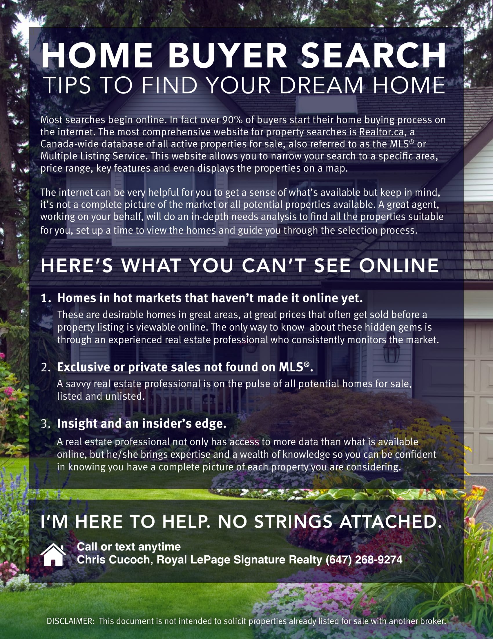 Home Buyer Search Tips to Find Your Dream Home